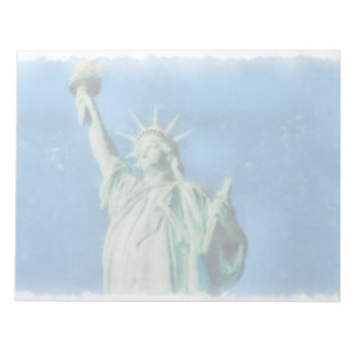 Freiheitsstatue, New- YorkAquarellmalen Notizblock
