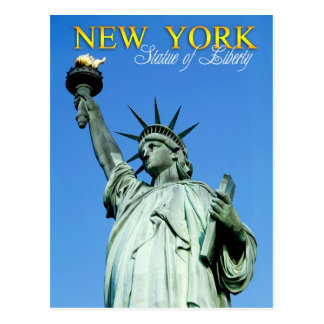 Freiheitsstatue, NYC Postkarte