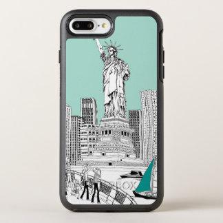 Freiheitsstatue OtterBox Symmetry iPhone 8 Plus/7 Plus Hülle