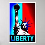 Freiheitsstatue Plakat