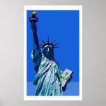 Freiheitsstatue Pop-Kunst-Plakat