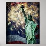 Freiheitsstatue Poster
