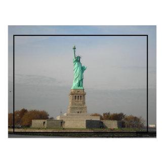 Freiheitsstatue Postkarte
