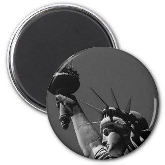Freiheitsstatue Runder Magnet 5,7 Cm