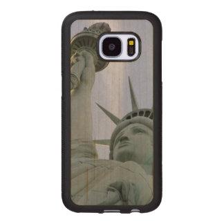 Freiheitsstatue Samsung Galaxy S7 Holzhülle