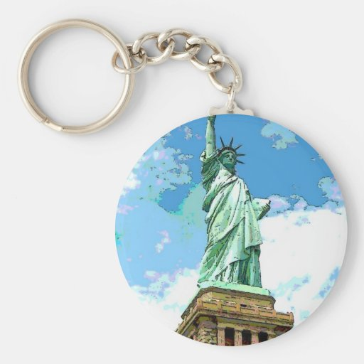 Freiheitsstatue Schlüsselanhänger