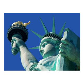 Freiheitsstatue Sehenswürdigkeit-Ferien-Postkarten Postkarte