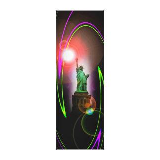 Freiheitsstatue - Statue of Liberty - Abstrakt2 Leinwanddruck