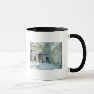 Freilicht triclinium des Hauses von Neptun Tasse