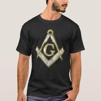 Freimaurer Bling quadratisches T-Shirt