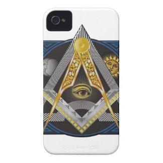 Freimaurerei-Emblem Case-Mate iPhone 4 Hülle