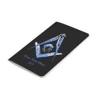 Freimaurerverstand (blau) taschennotizbuch