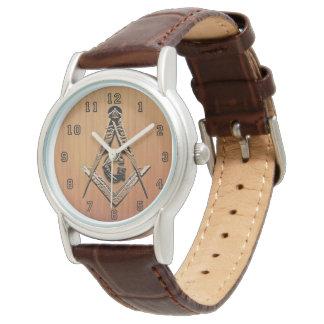 Freimaurerverstand (GoldenWooded) Uhr