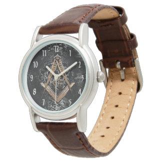 Freimaurerverstand (Swish) Armbanduhr