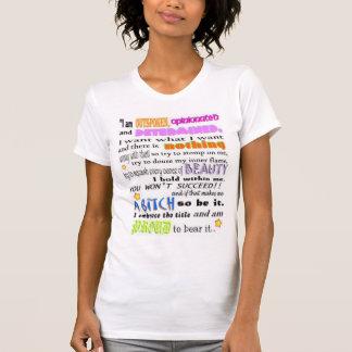 Freimütig u. rechthaberisch T-Shirt