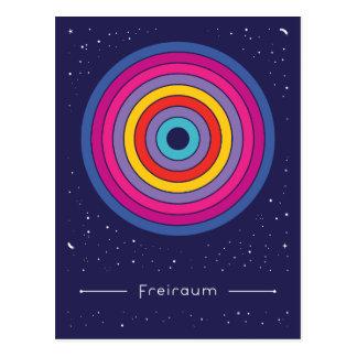 Freiraum Postkarte