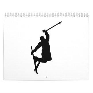 Freistilskisprung Abreißkalender