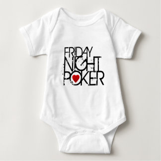 Freitag Abend Poker Baby Strampler