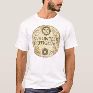 Freiwilliger Feuerwehrmann-Schmutz T-Shirt