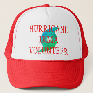 FREIWILLIGER Florida Desaster-Hut HURRIKAN-IRMA Truckerkappe