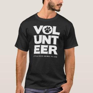 """""""Freiwilliger, LRAV"""" T - Shirt (Schwarzes)"""