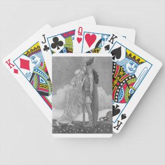 Freja und Svipdag durch John Bauer Bicycle Spielkarten