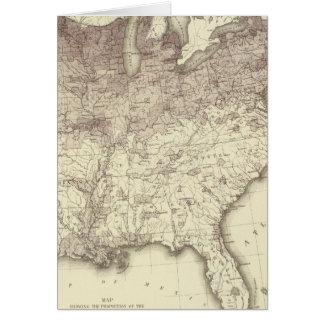 Fremder Bevölkerungs-Anteil 1870 Karte
