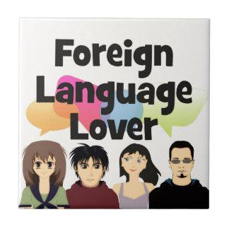 Fremdsprache-Liebhaber Fliese