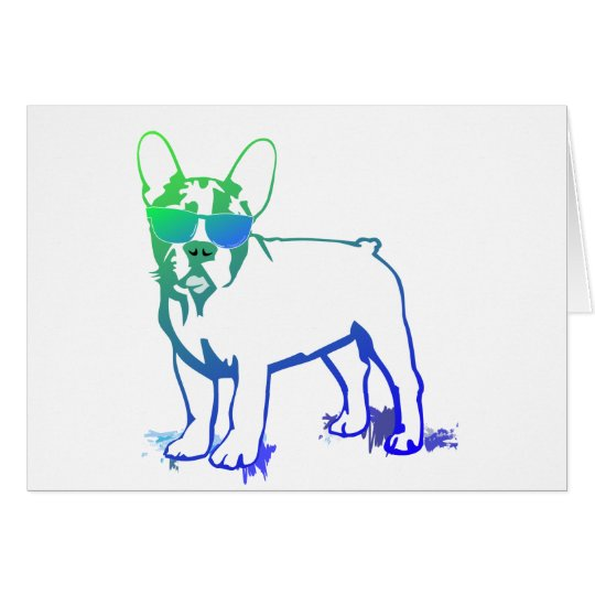 French Bulldog Cards Karte