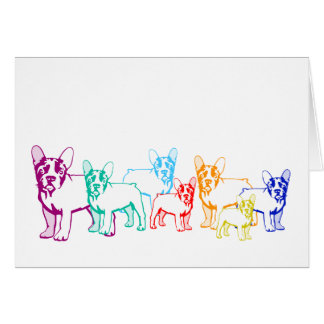 French Bulldog Cards Karte