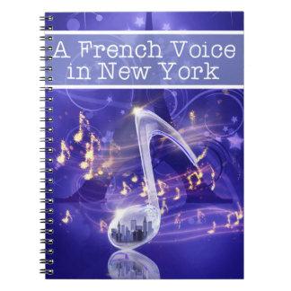 French Voice Notebook Spiral Notizblock