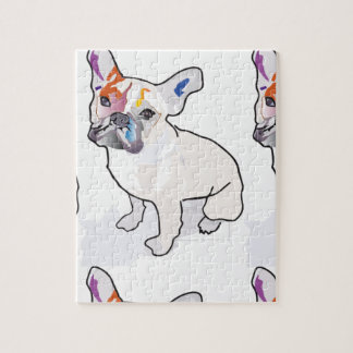 frenchie Clown Puzzle
