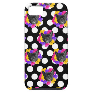 Frenchies und Pansy-Punkte iPhone 5 Etui
