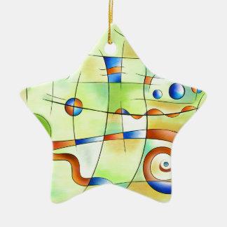 Frenesia - wütende Welt Keramik Ornament