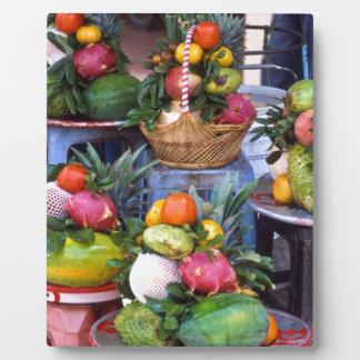 Fresh Asian Fruits Fotoplatte