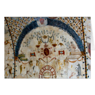 """""""Freskos von Assisi Italien IV """" Karte"""