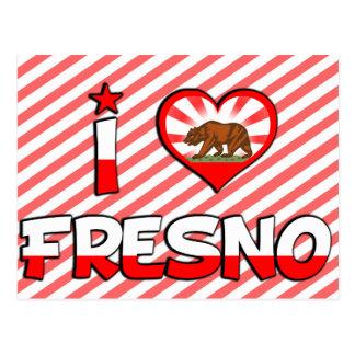 Fresno, CA Postkarte