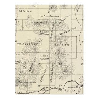 Fresno County, Kalifornien 5 Postkarte