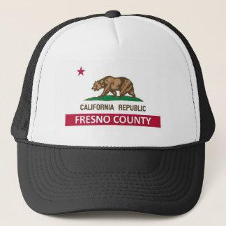 Fresno County Kalifornien Truckerkappe