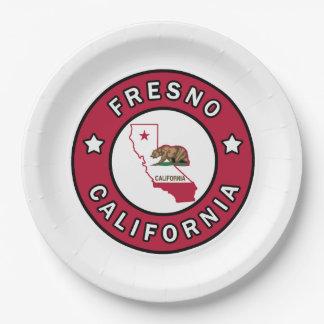 Fresno Kalifornien Pappteller