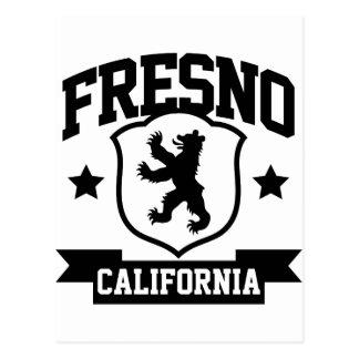 Fresno-Wappenkunde Postkarte