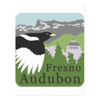 FresnoAudubonLogoVectorMaster.ai Postkarte