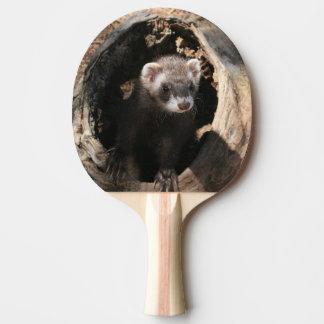 Frettchen-Gesichts-voller Druck Tischtennis Schläger