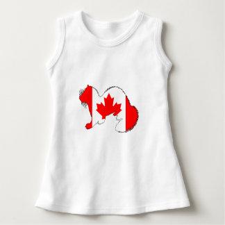 Frettchen Kanada Kleid