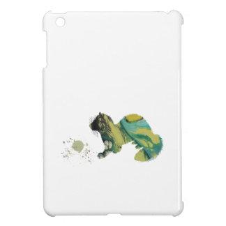 Frettchen mit Spielzeug iPad Mini Cover