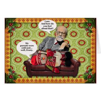 Freud-Karte Grußkarte