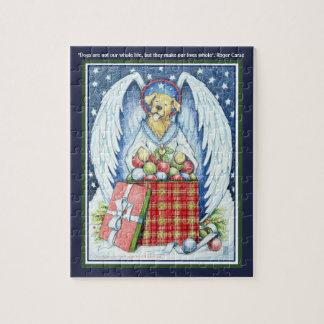 """Freude 8"""" des Bären Weihnachtsx 10"""" Puzzlespiel Puzzle"""