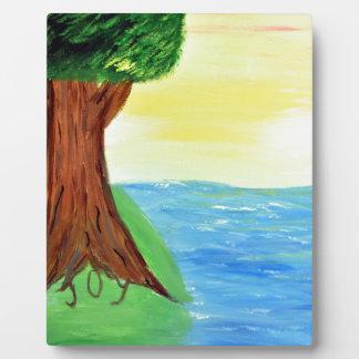 Freude-Baum Fotoplatte
