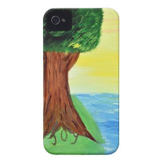Freude-Baum iPhone 4 Hüllen