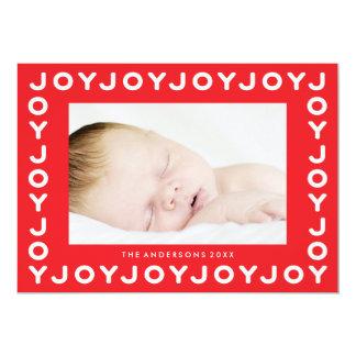 Freude-Freude-Freude-rote Karte